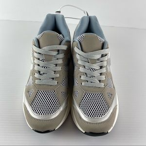 Sportsgirl Sporty Luxe Lace Up Trainers Size 38